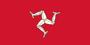Triskel - Isle of Man - Fahne